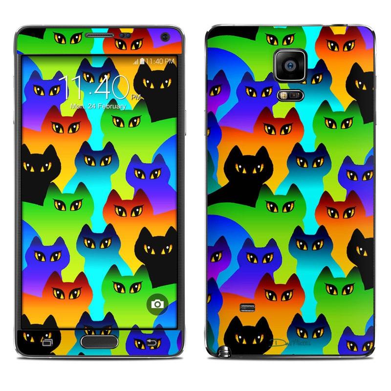Rainbow Cats Galaxy Note 4 Skin