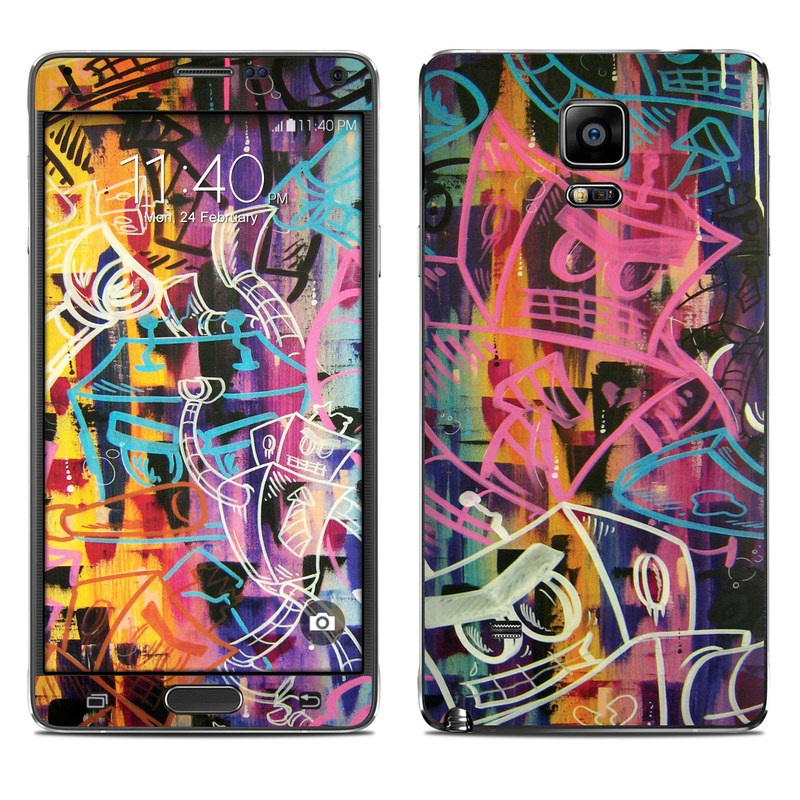 Robot Roundup Galaxy Note 4 Skin