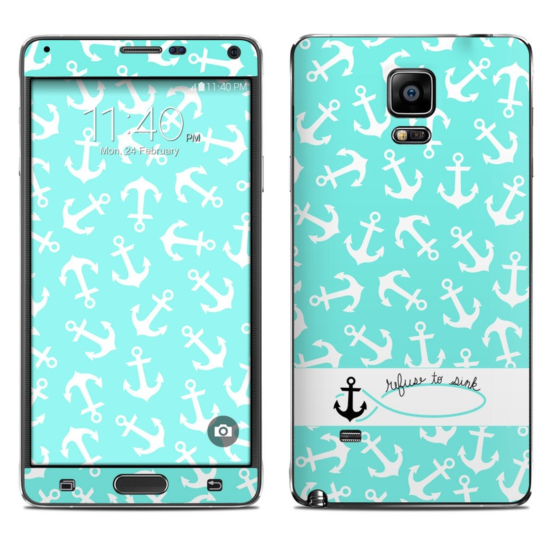 Samsung Galaxy Note 4 Skin design of Text, Turquoise, Aqua, Font, Teal, Pattern, Line, Design, Illustration with gray, white, blue, green colors