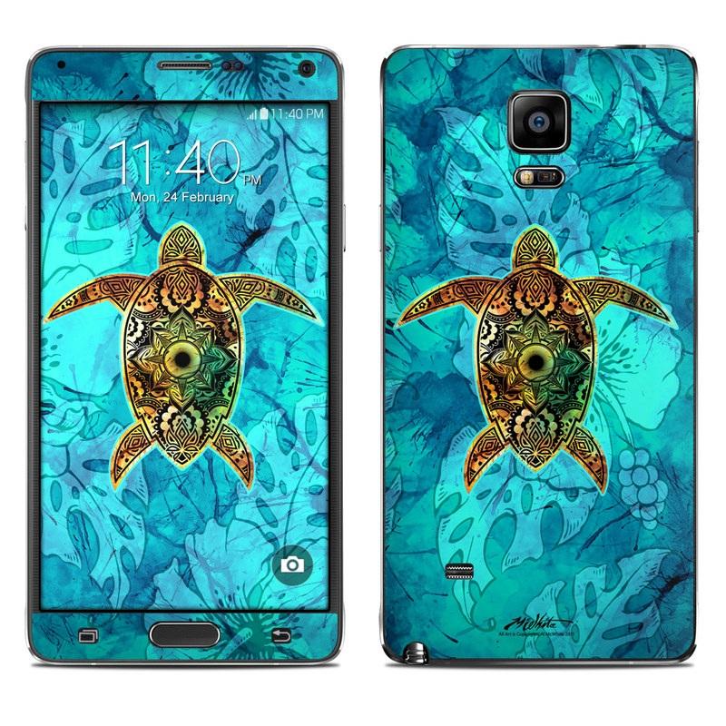 Sacred Honu Galaxy Note 4 Skin