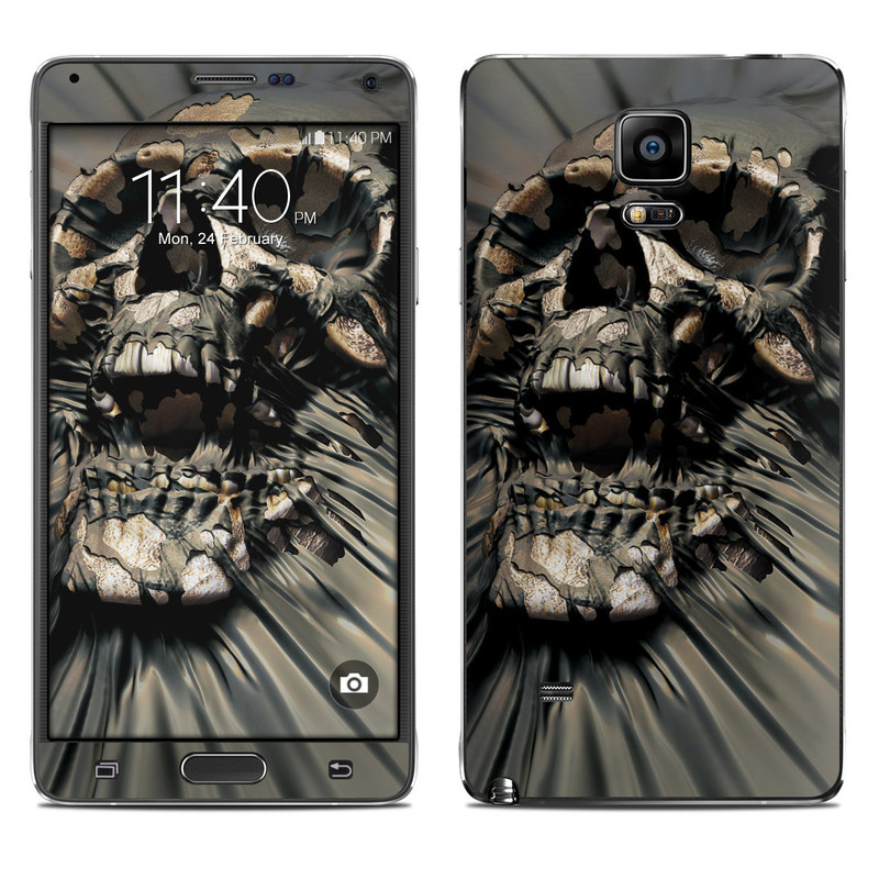Skull Wrap Galaxy Note 4 Skin