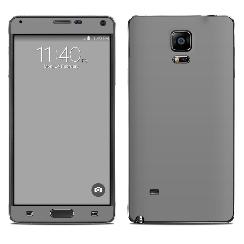 Solid State Grey Galaxy Note 4 Skin