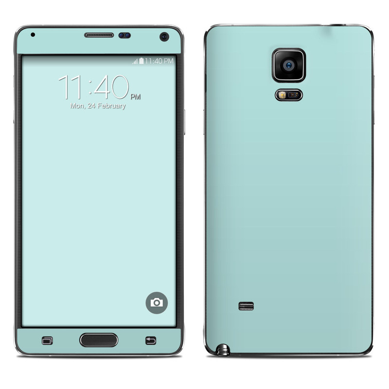 Solid State Mint Galaxy Note 4 Skin