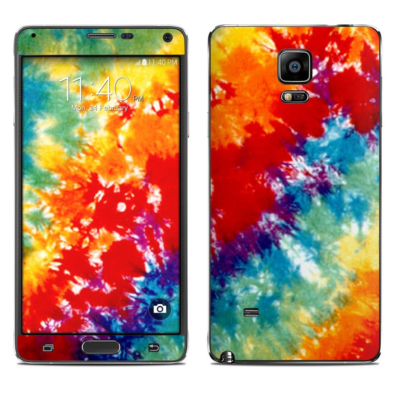 Tie Dyed Galaxy Note 4 Skin