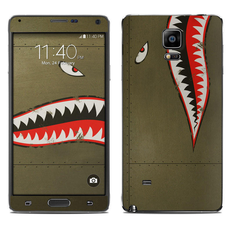 USAF Shark Galaxy Note 4 Skin