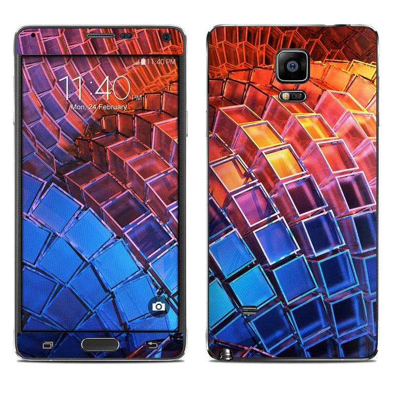 Waveform Galaxy Note 4 Skin