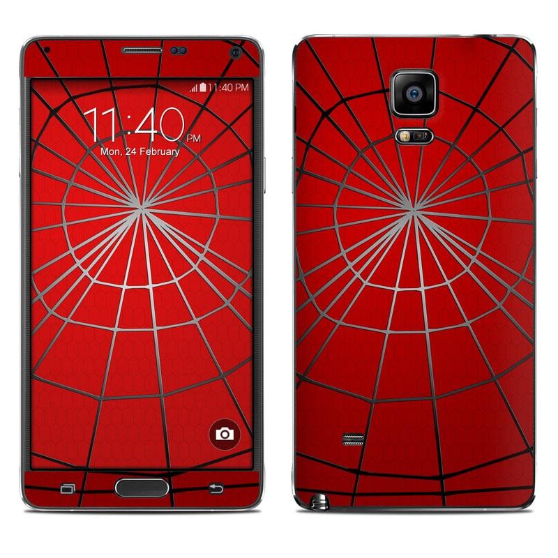 Webslinger Galaxy Note 4 Skin