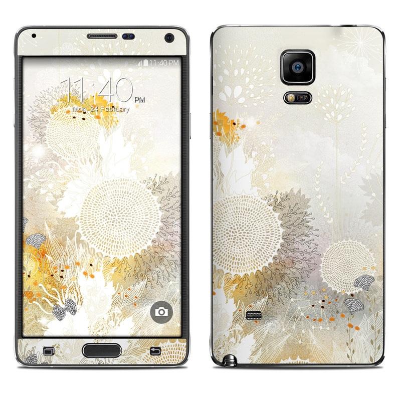 White Velvet Galaxy Note 4 Skin