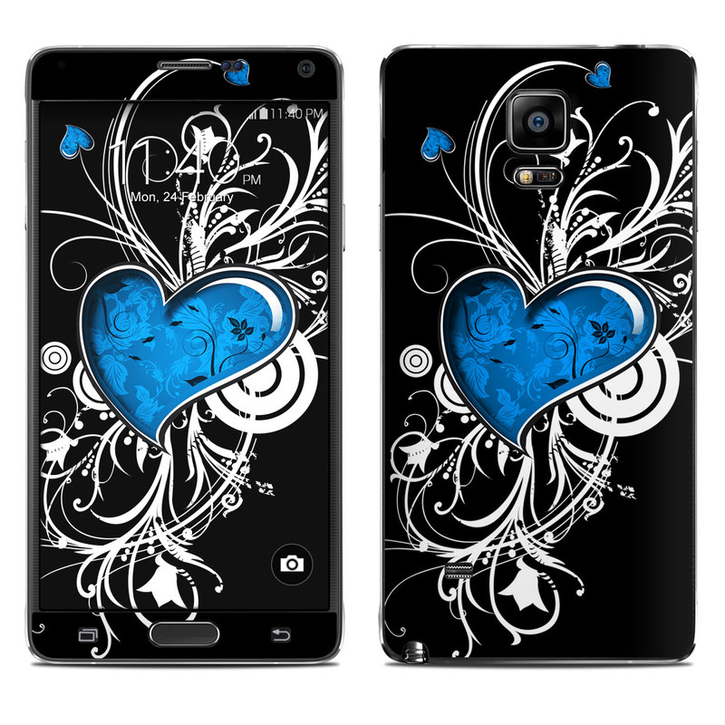 Your Heart Galaxy Note 4 Skin