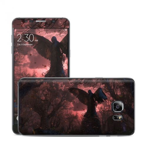 Black Angel Galaxy Note 5 Skin