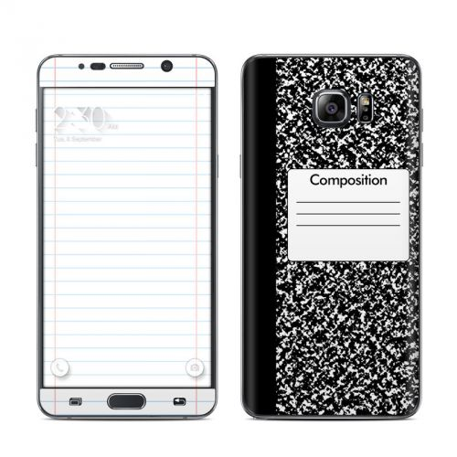 Composition Notebook Galaxy Note 5 Skin