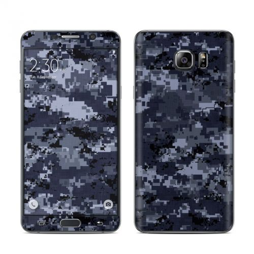 Digital Navy Camo Galaxy Note 5 Skin