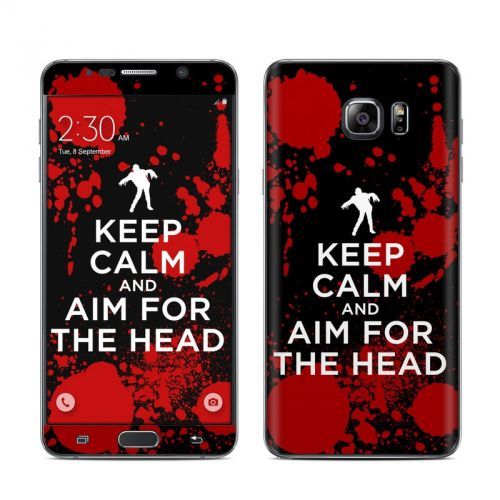 Keep Calm - Zombie Galaxy Note 5 Skin