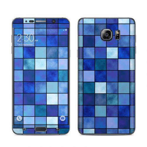 Blue Mosaic Galaxy Note 5 Skin