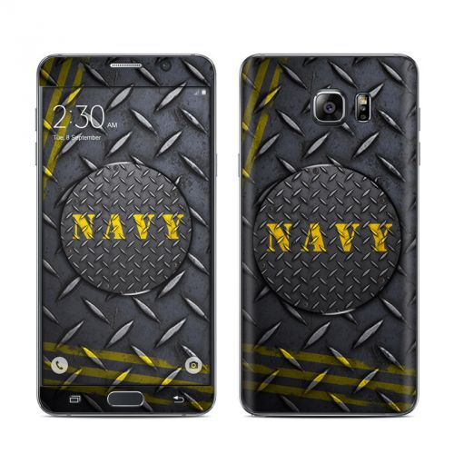 Navy Diamond Plate Galaxy Note 5 Skin