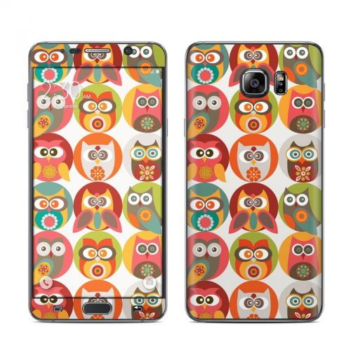 Owls Family Galaxy Note 5 Skin
