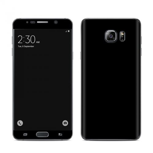 Solid State Black Galaxy Note 5 Skin