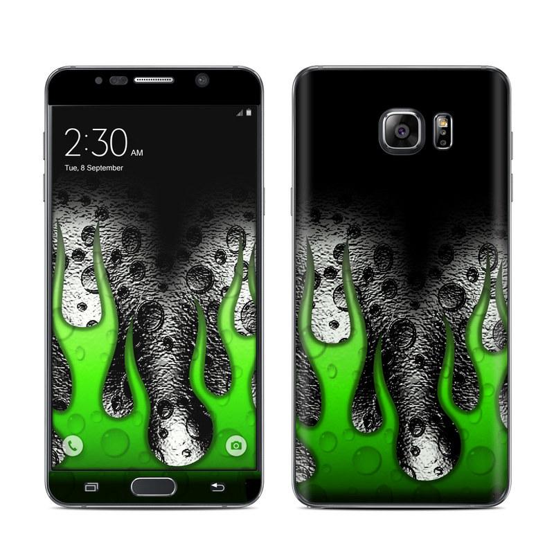 Acid Flames Galaxy Note 5 Skin
