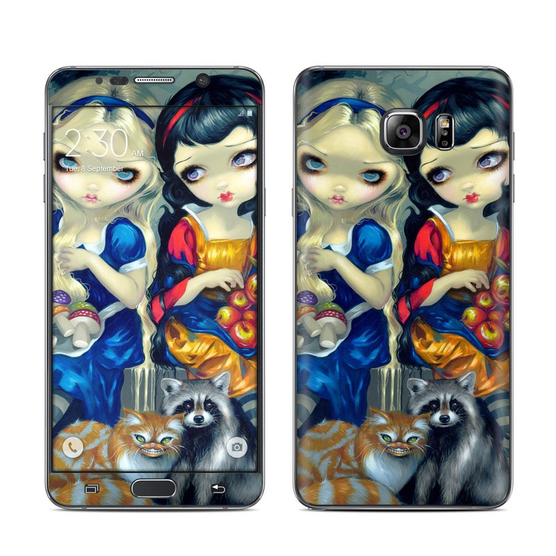 Alice & Snow White Galaxy Note 5 Skin