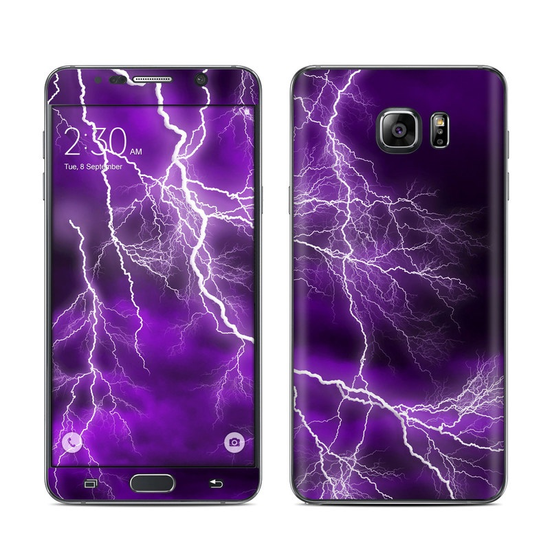 Apocalypse Violet Galaxy Note 5 Skin
