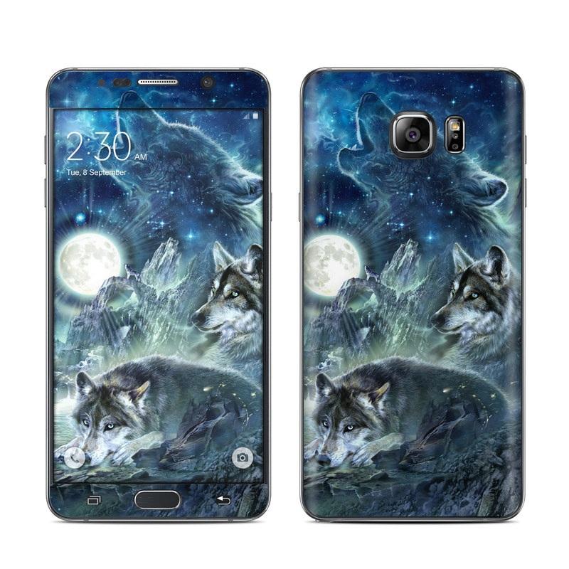 Bark At The Moon Galaxy Note 5 Skin