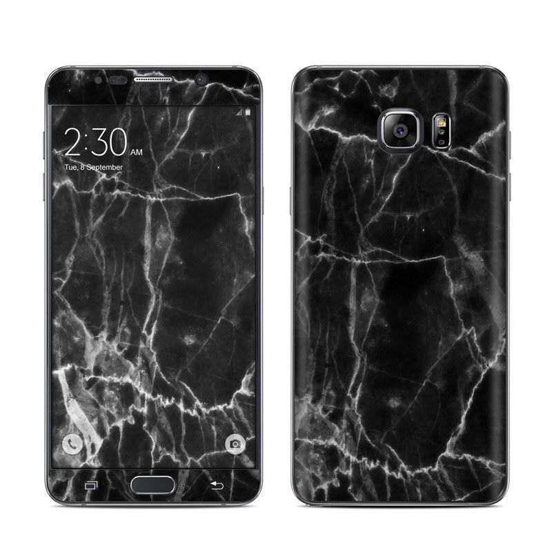 Black Marble Galaxy Note 5 Skin