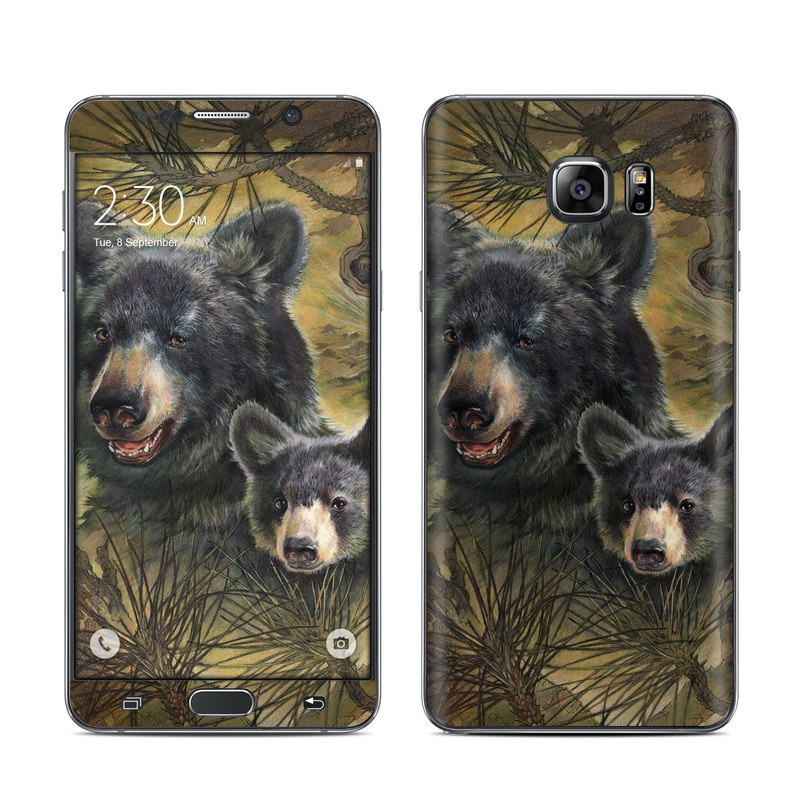 Black Bears Galaxy Note 5 Skin