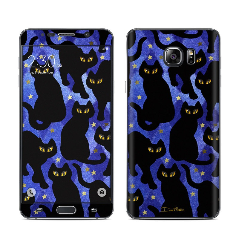 Cat Silhouettes Galaxy Note 5 Skin