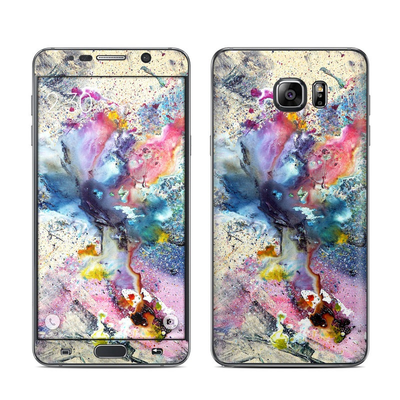 Cosmic Flower Galaxy Note 5 Skin