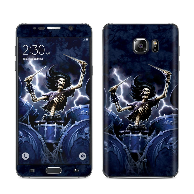 Death Drummer Galaxy Note 5 Skin