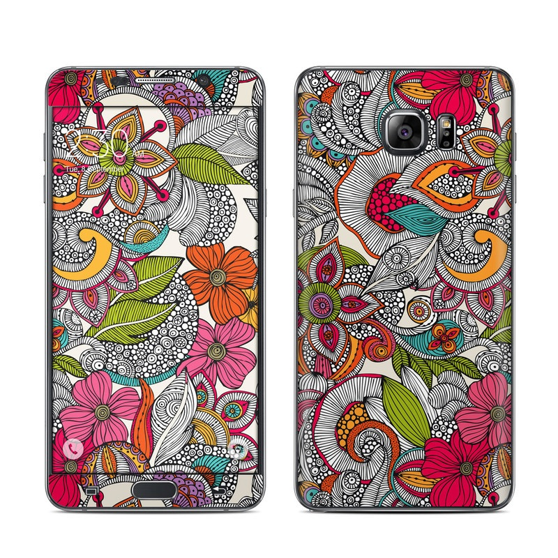 Doodles Color Galaxy Note 5 Skin