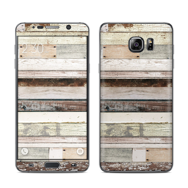 Eclectic Wood Galaxy Note 5 Skin