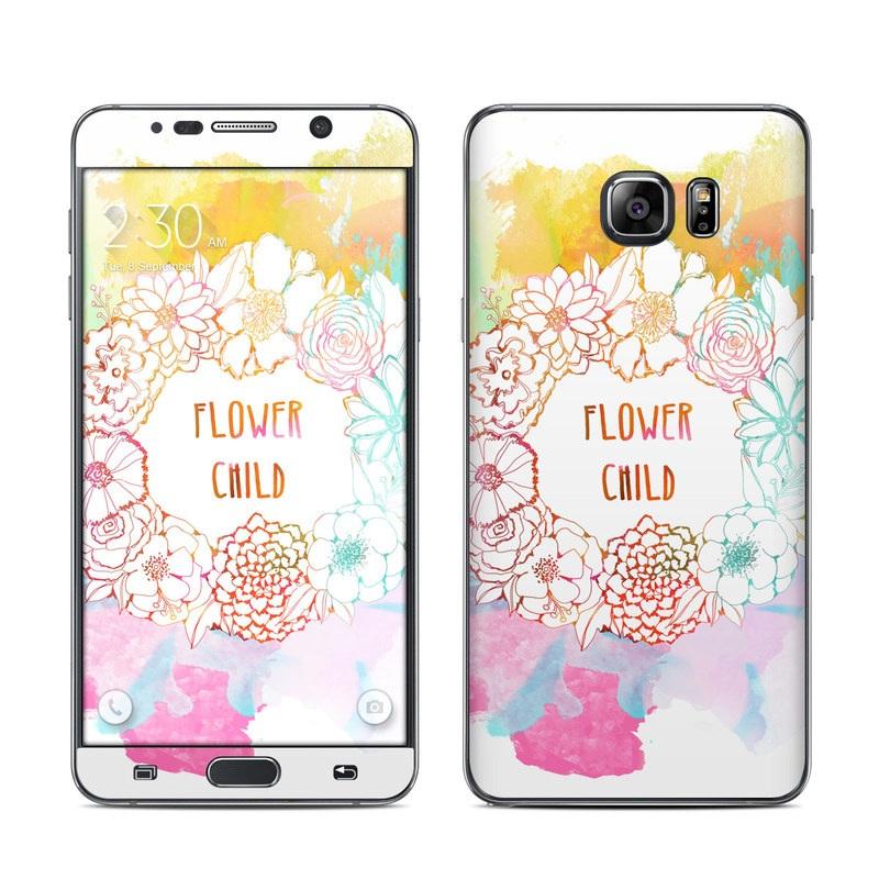 Flower Child Galaxy Note 5 Skin