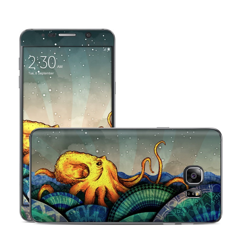 From the Deep Galaxy Note 5 Skin
