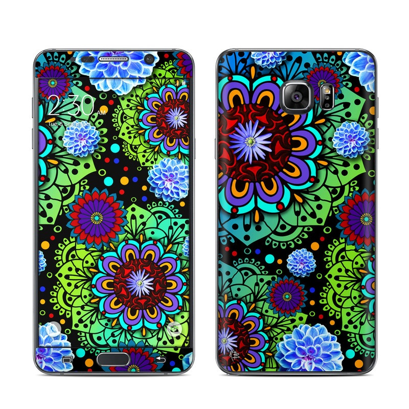 Funky Floratopia Galaxy Note 5 Skin