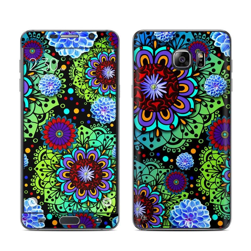 Funky Floratopia Galaxy Note 5 Skin