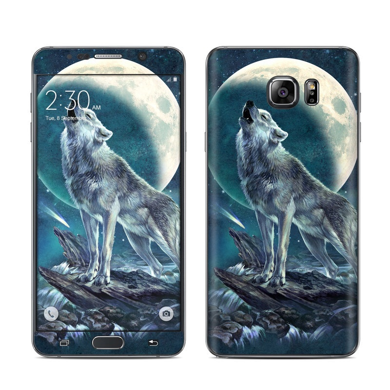 Howling Moon Soloist Galaxy Note 5 Skin