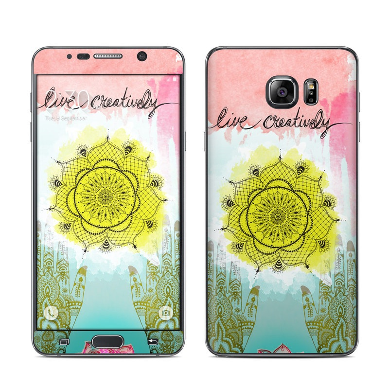 Live Creative Galaxy Note 5 Skin