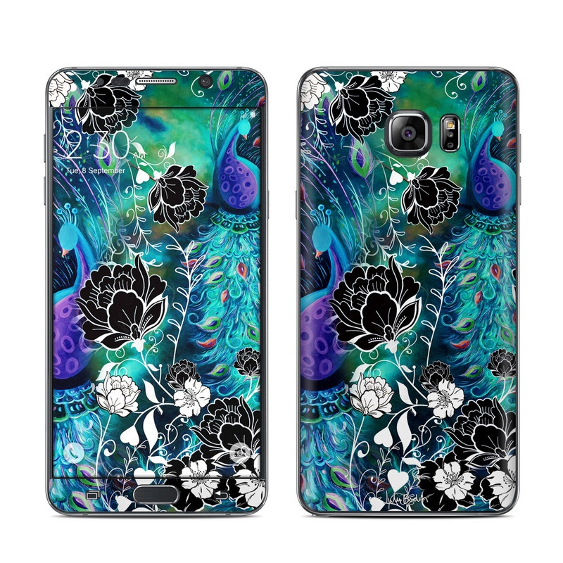 Peacock Garden Galaxy Note 5 Skin