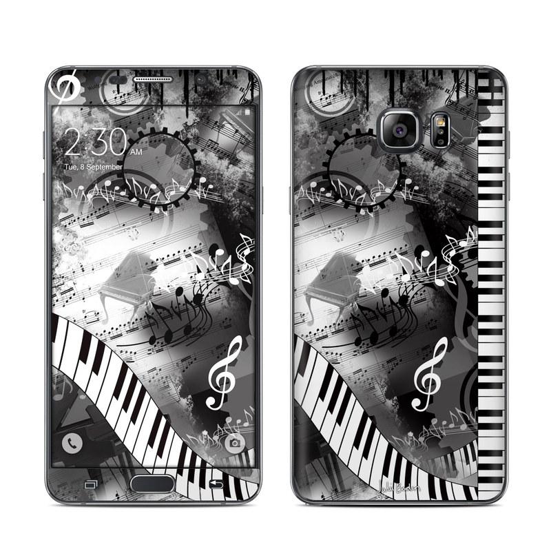 Piano Pizazz Galaxy Note 5 Skin