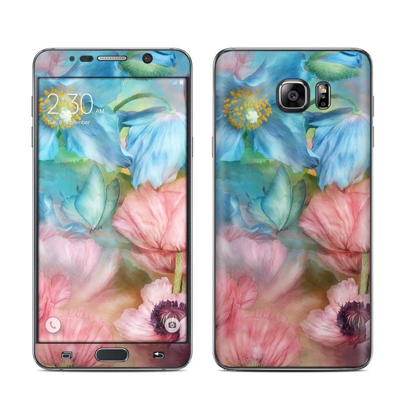 Poppy Garden Galaxy Note 5 Skin