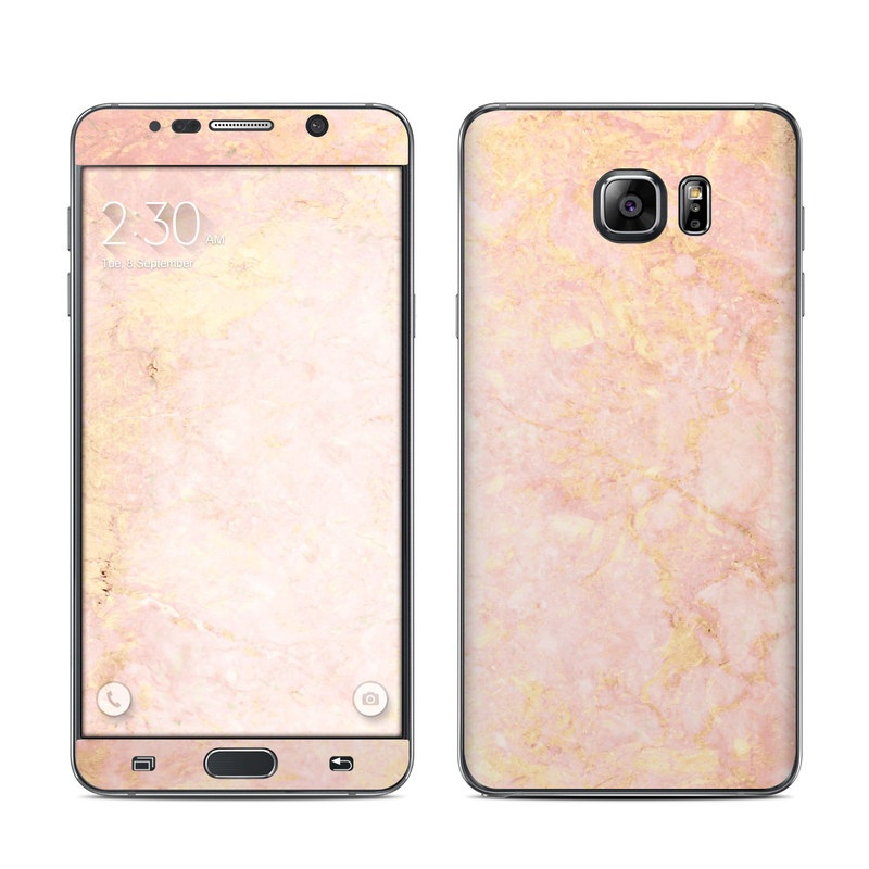 Rose Gold Marble Galaxy Note 5 Skin Istyles