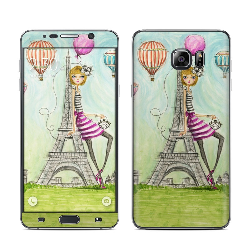 The Sights Paris Galaxy Note 5 Skin