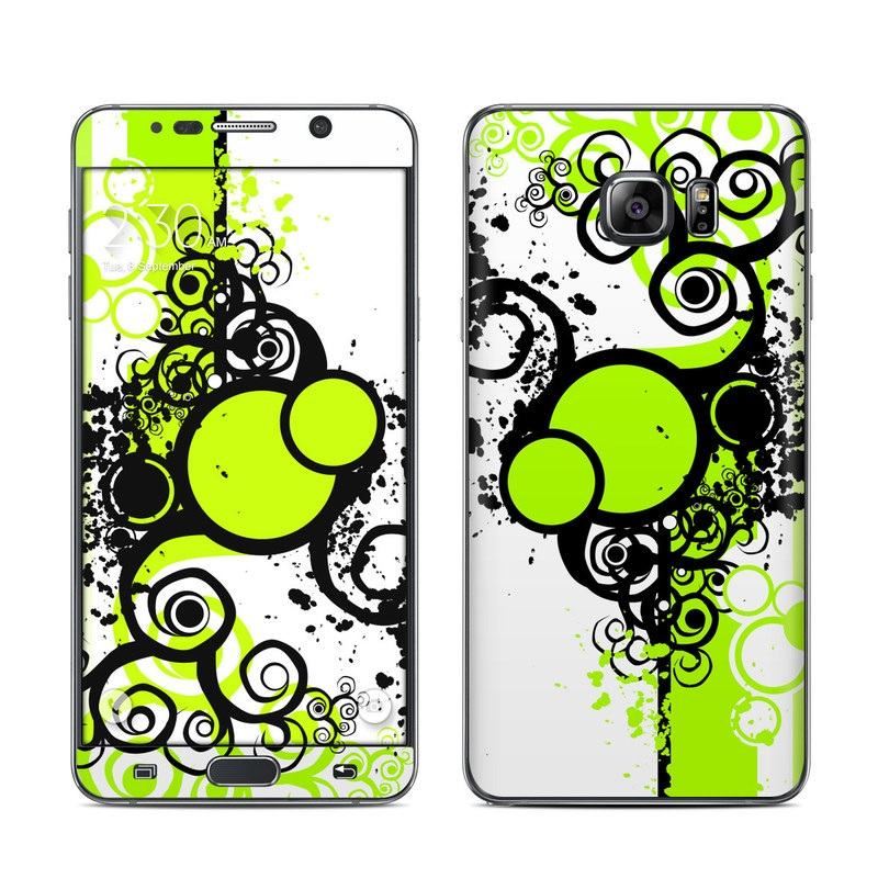 Simply Green Galaxy Note 5 Skin