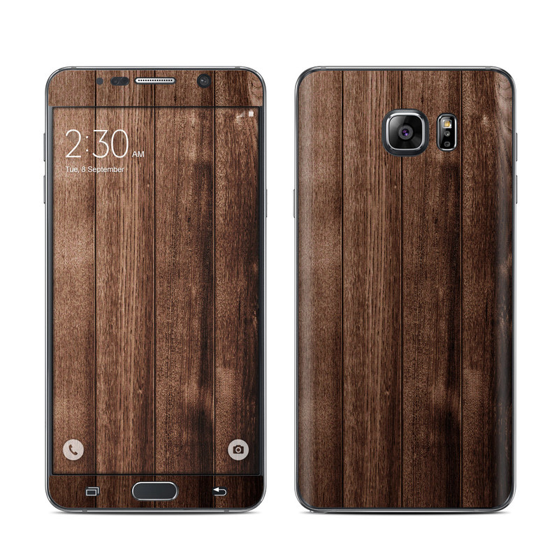 Stained Wood Galaxy Note 5 Skin