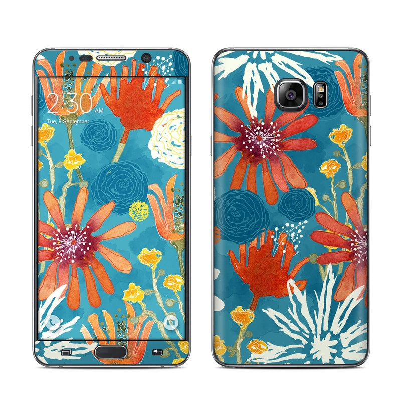 Sunbaked Blooms Galaxy Note 5 Skin