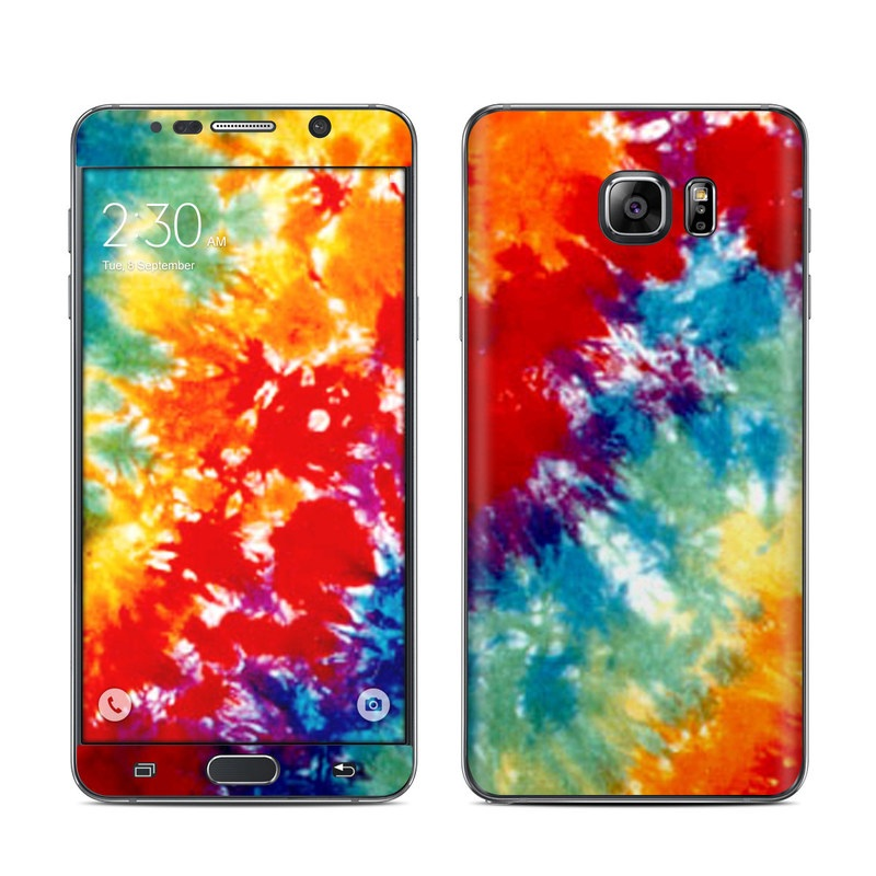 Tie Dyed Galaxy Note 5 Skin