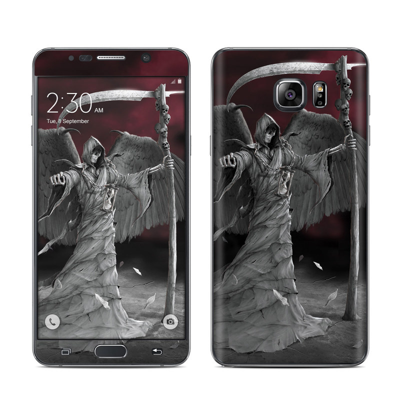 Time is Up Galaxy Note 5 Skin