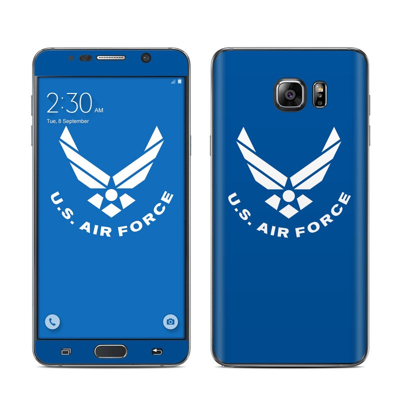 USAF Blue Galaxy Note 5 Skin