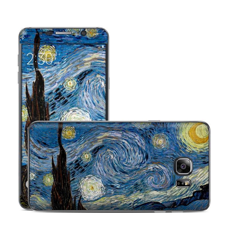 Starry Night Galaxy Note 5 Skin